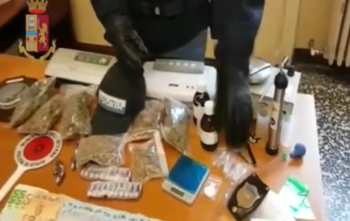 """Notizie dal Piemonte. La marijuana veniva """"distillata"""" per essere fumata nelle sigarette elettroniche: arrestato un 33enne [VIDEO]"""