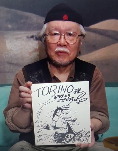 Il fumettista giapponese Matsumoto sta bene: il papà di Capitan Harlock torna a casa