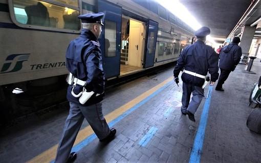 Tutti i numeri dei controlli della Polizia sui treni e nelle ferrovie del Piemonte
