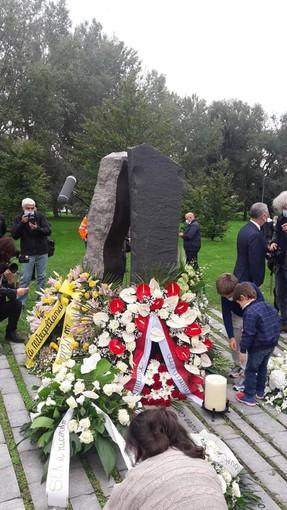 Romagnano Sesia ha ricordato il suo concittadino che perse la vita nell'incidente a Linate nel 2001