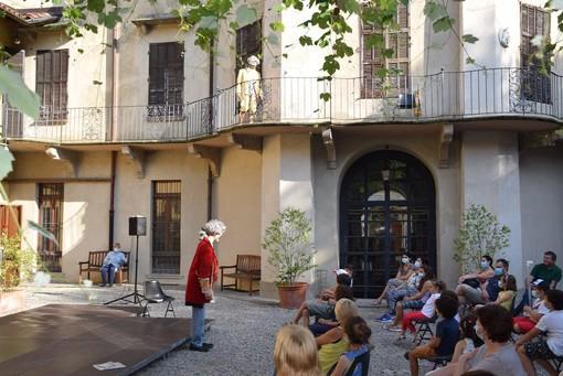 """Borgomanero, primo appuntamento di """"Serate al parco """"Serate al parco. Musica e parole per la città"""""""