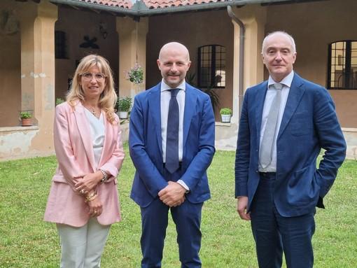 Davide Maggi è il nuovo presidente della Fondazione Comunità Novarese