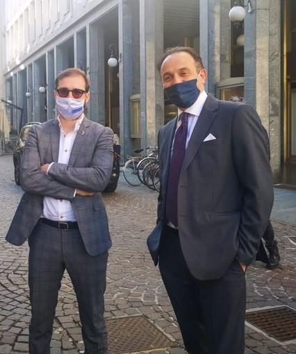 """Cirio e il consigliere Lanzo (Lega): 'Nostra proposta sull'autonomia alla ministra Gelmini"""""""