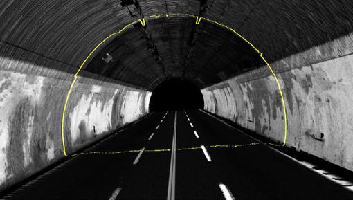 Autostrade per l'Italia mette in campo georadar e laser per controllare 587 gallerie, di cui 52 in Piemonte