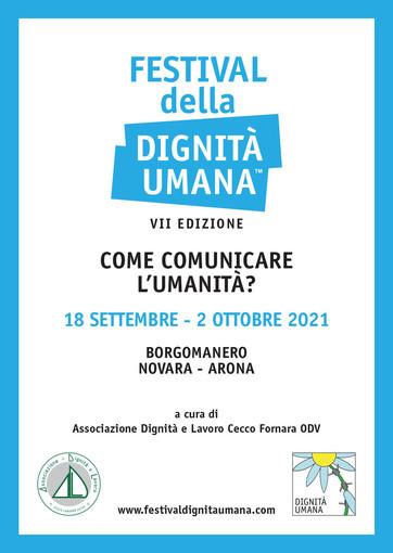 Partirà il 18 settembre da Borgomanero il 'Festival della Dignità Umana'