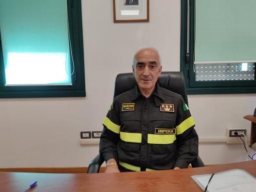Corrado Romano è il nuovo Comandante dei Vigili del Fuoco di Novara
