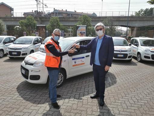 Cai , consegnate le 53 auto donate ad Anpas per l'assistenza domiciliare nelle aree montane