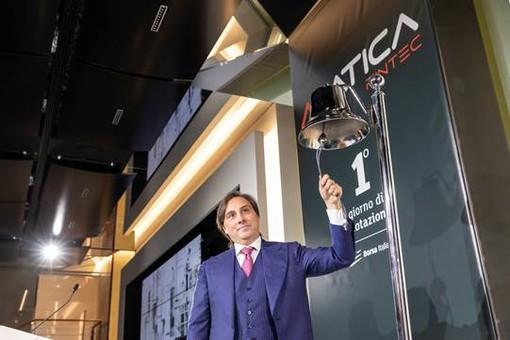Borsa Italiana dà il benvenuto a Matica Fintec su AIM Italia