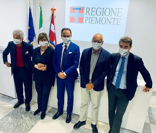 Vaccini ed economia al centro dell'incontro tra Cirio e i presidenti emeriti della Regione