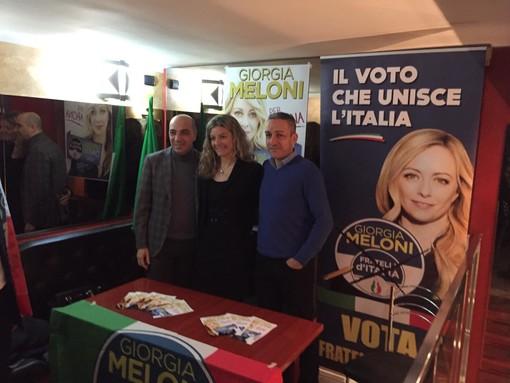 Arona, presentato il circolo di Fratelli d'Italia