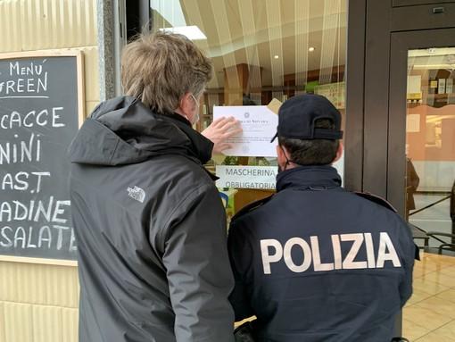 Violazione norme anti Covid, chiuso un bar in corso Risorgimento