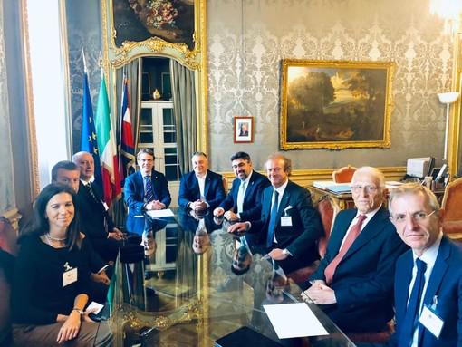 Imprese novaresi in Regione ad un incontro con il presidente Cirio e  l'Assessore regionale alle attività produttive Tronzano