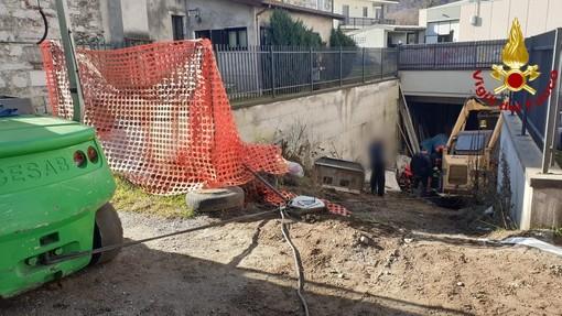 San Maurizio d'Opaglio, incidente sul lavoro in un cantiere edile