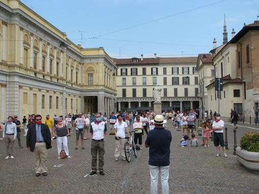 A Novara manifestazione contro la legge sull'omotransfobia