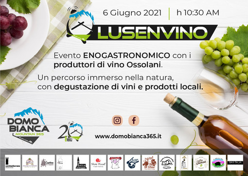 Domobianca365, domenica a Foppiano l'evento 'Lusevino'
