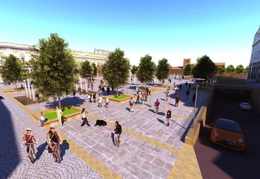 """Il """"sogno"""" dei Lions per piazza Martiri pedonale"""