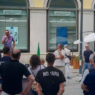Centro storico blindato questa mattina a Novara