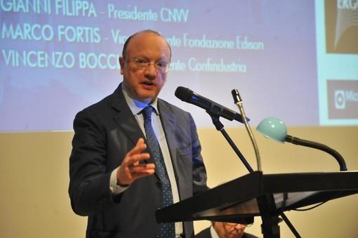 """Assemblea generale Confindustria Novara Vercelli Valsesia, Boccia: """"Paese in fase delicata, industria vuole aiutare la politica"""""""