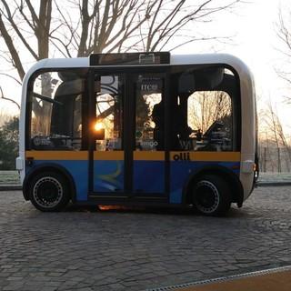 Notizie dal Piemonte. Ecco Olli, con il nuovo shuttle a Torino al via la sperimentazione del bus a guida autonoma [FOTO e VIDEO]