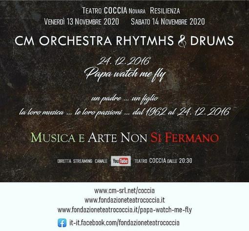 La Fondazione Teatro Coccia riparte dallo streaming