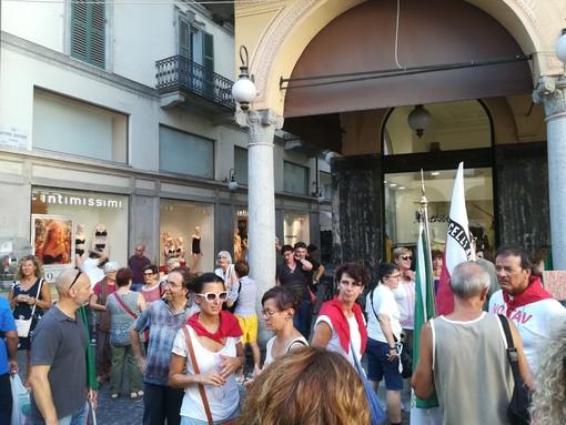 Riuscita la manifestazione del comitato antifascista contro il decreto sicurezza