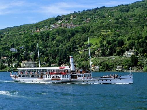 Navigazione Lago Maggiore, itinerari a tutto vapore con lo storico piroscafo Piemonte
