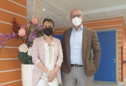 """Momo, il sindaco Faccio in visita ai nonni della Rsa """"Massimo Squarini"""""""