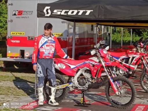 Il borgomanerese Stefano Pastore ottavo al campionato italiano motorally