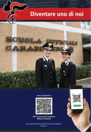 Comando Provinciale dei Carabinieri: incontri presso gli istituti scolastici superiori per presentare l'offerta formativa e professionale dell'Arma