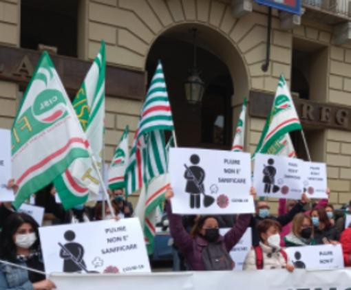"""Appalto pulizie Asl piemontesi, Rossi (Pd): """"Solidarietà ai lavoratori che hanno manifestato"""""""