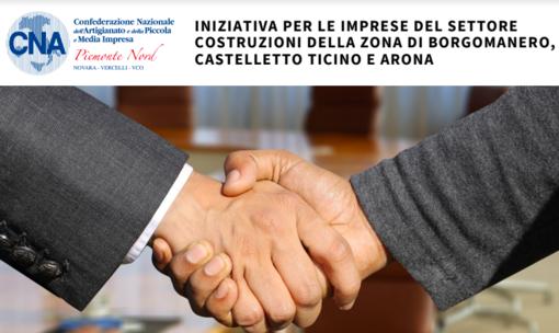 """""""Presenta la tua impresa"""", iniziativa CNA per le imprese del settore costruzioni della zona di Borgomanero, Arona e Castelletto Ticino"""