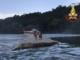 Intrappolati su un isolotto di sabbia nel Ticino: un adulto e quattro bambini salvati dall'elicottero dei vigili del fuoco