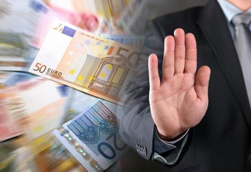 Il Vco penultimo per numero di imprese a 'rischio usura'