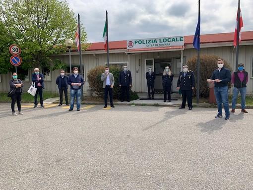 Tredici agenti per il nuovo Nucleo di Tutela e sicurezza urbana promosso dalla Polizia Locale di Novara