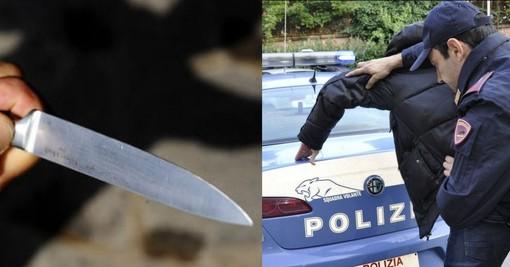 Si intrufola a casa della ex, poi si mette a inseguirla con un coltello minacciandola di morte: 22enne in arresto