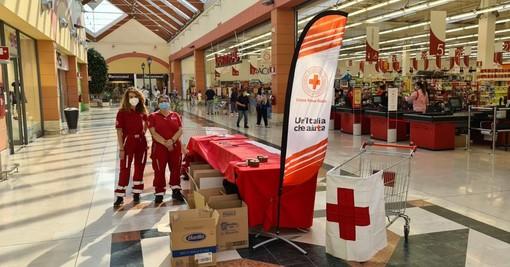 Un successo la Raccolta Alimentare della Croce Rossa di Oleggio
