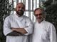 I complimenti di chef Sacco a Christian Balzo per la stella Michelin