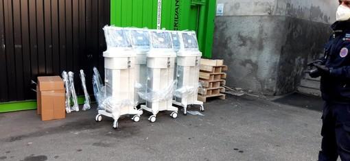 Consegnati al Maggiore i nuovi ventilatori polmonari