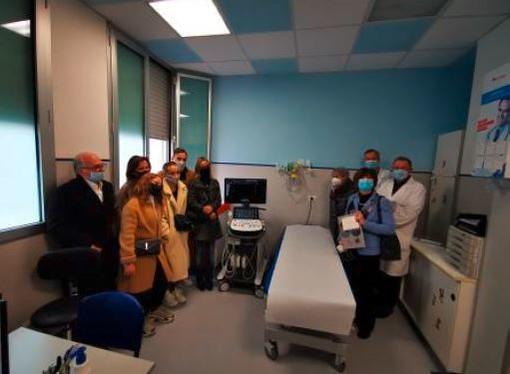 'Un goal per Simonluca' dona un ecografo alla Pediatria di Brgomanero