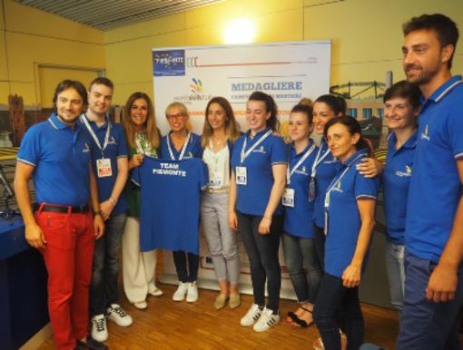 Laura Canevotti, allieva di EnAIP Borgomanero, ai campionati mondiali dei mestieri in Russia