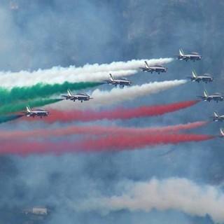Le Frecce Tricolori tornano sui cieli di Arona, la data dell'air show 2020