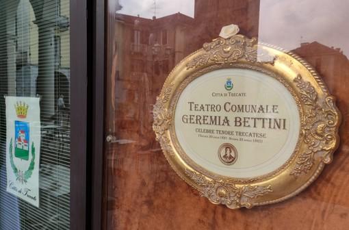Intitolato a Geremia Bettini il Teatro Comunale di Trecate