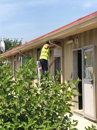 Conclusi i lavori per il nuovo dormitorio all'ex-campo Tav