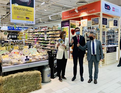 Regione, Visitpiemonte e Carrefour promuovono i prodotti certificati del Piemonte