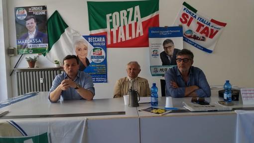Forza Italia chiede a Cirio un assessorato per Marcassa