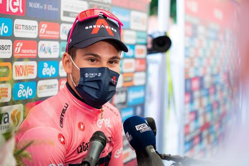 Giro: a Novara vince Tim Merlier, Ganna rimane in Rosa