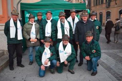 Celebrata la giornata del Gruppo Alpini di Borgomanero