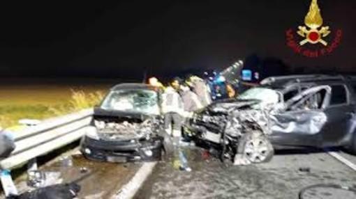 Grave incidente ieri sera a Trecate, otto feriti trasportati a Novara
