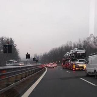 Incidente in A26. coinvolto un mezzo pesante