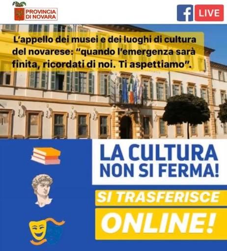 #LaCulturaNonSiFerma: alle 18 diretta Facebook dal  Museo Storico Etnografico